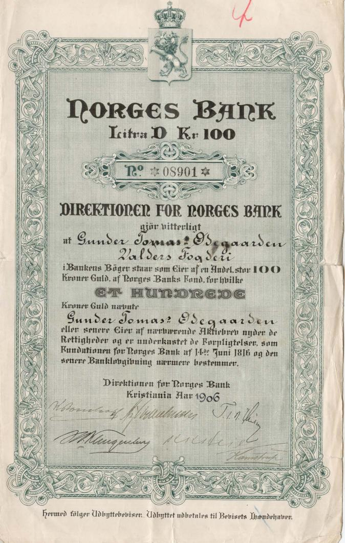 norges-bank_1906_100_ltrd