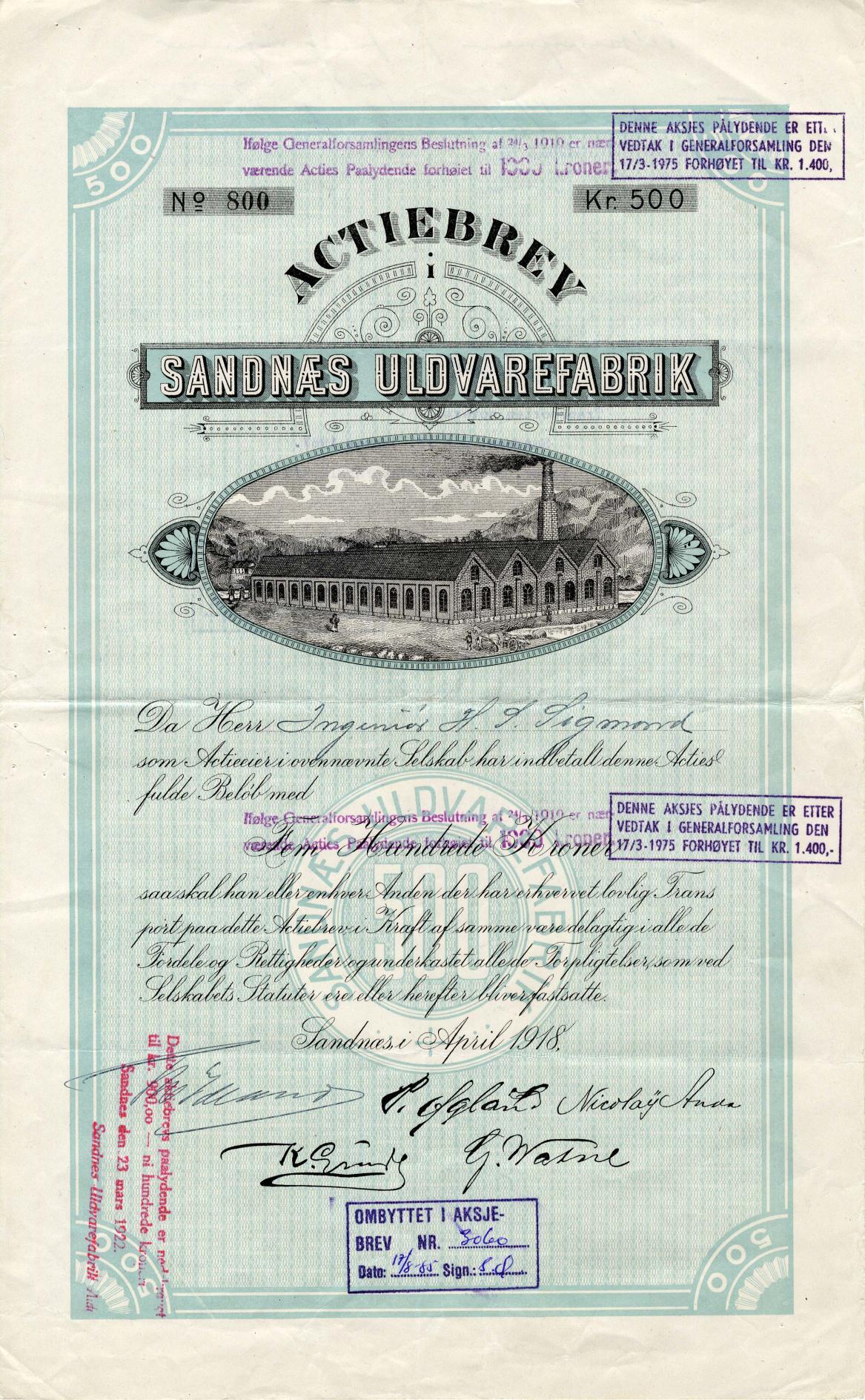 sandnas-uldvarefabrik_1918_500