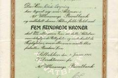 104_Ullensvangs-Privatbank_1918_500_nr3396-3400