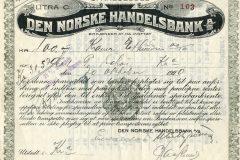 133_Den-Norske-Handelsbank-spareseddel_1920_100_nr103