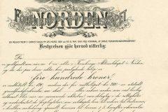150_Norden-Forsikrings-aktieselskapet_1919_400_nrBlankett