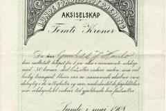 159_Lunde-Forbruksforening_1908_50_nr33