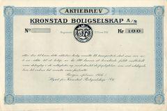 169_Kronstad-Boligselskap_1918_100_nrBlankett