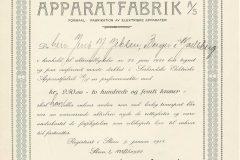194_Sørlandske-Elektriske-Apparatfabrik_1922_250_nr1290