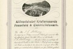 221_Kristianssands-Fossefald-og-Elektricitetsværk_1902_500_nr253