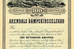 226_Arendals-Dampskibsselskab_1889_300_nrBlankett