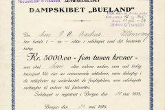 238_Bueland-Dampskibet_1918_5000_nr196