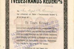 278_Tvedestrands-Rederi_1916_1000_nr261