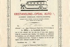 292_Kristiansund-Opdal-Auto_1932_200_nr115