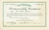 075_Kristianssunds-Kreditbank_1918_2500_10501-10510-